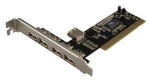 КОНТРОЛЕР PCI TO USB2.0 4-ports