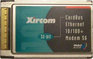PCMCIA LAN 10/100Mbit + MODEM 56K