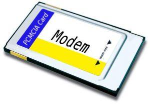 PCMCIA MODEM 56K