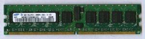 DDR2 ECC 1GB PC3200