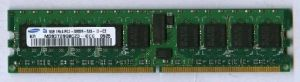 DDR2 ECC 1GB PC5300